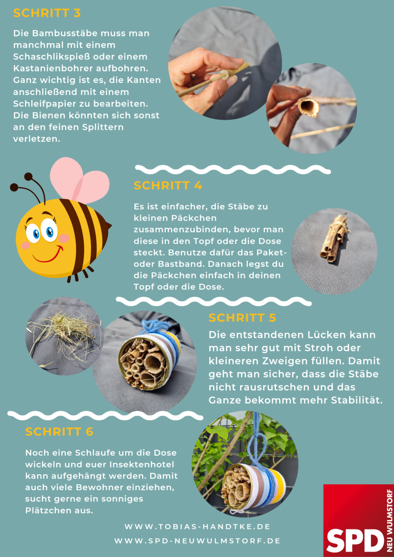 Insektenhotel - Anleitung