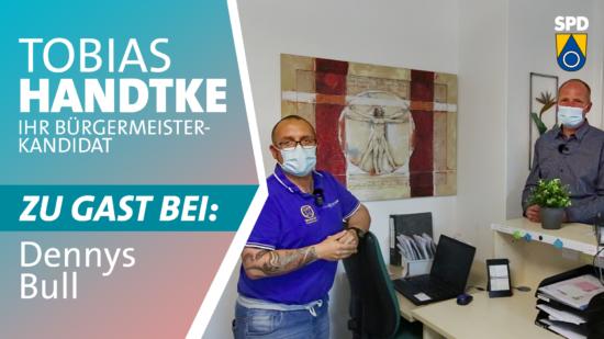 Tobias Handtke zu Gast bei Dennys Bull