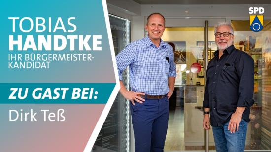 Tobias Handtke zu Gast bei Dirk Teß
