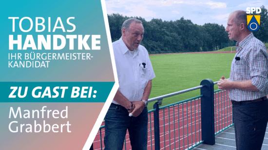 Tobias Handtke zu Gast bei Manfred Grabbert