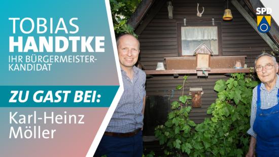 Tobias Handtke zu Gast bei Karl-Heinz Möller