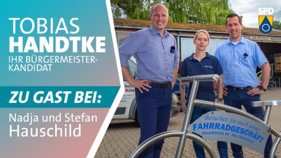 Tobias Handtke zu Gast bei Nadja und Stefan Hauschild