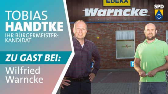 Tobias Handtke zu Gast bei Wilfried Warncke