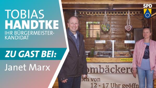 Tobias Handtke zu Gast bei Janet Marx