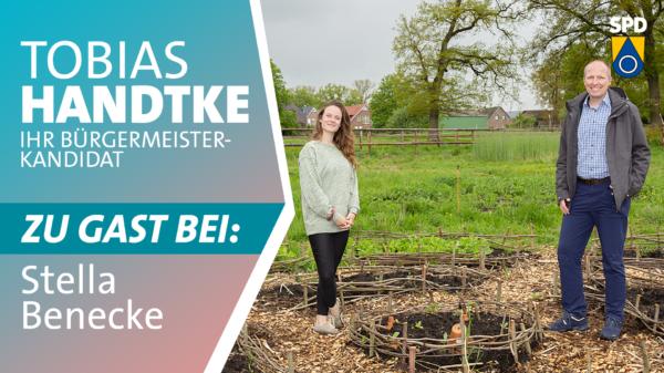 Tobias Handtke zu Gast bei Stella Benecke