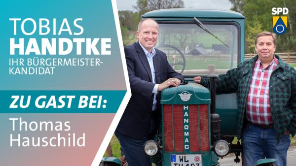 Tobias Handtke zu Gast bei Thomas Hauschild