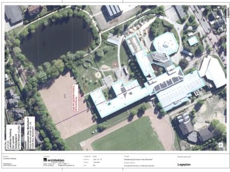 Skizze Anbau Gymnasium Neu Wulmstorf in 2022
