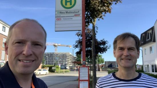 Tobias Handtke und Jürgen Waszkewitz