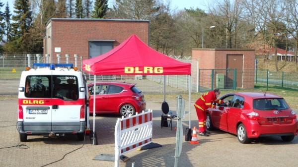 DLRG Teststation in Neu Wulmstorf