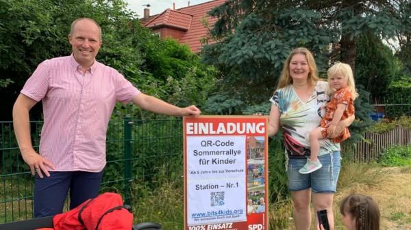 Sommerrallye Bits4kids unterstützt vom SPD Ortsverein Neu Wulmstorf